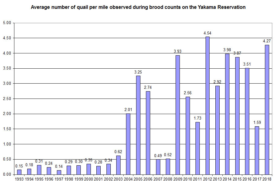 Quail Counts, Click To Enlarge